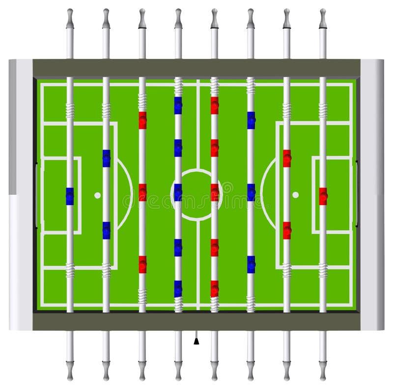 Вектор перспективы игры футбола футбола таблицы бесплатная иллюстрация