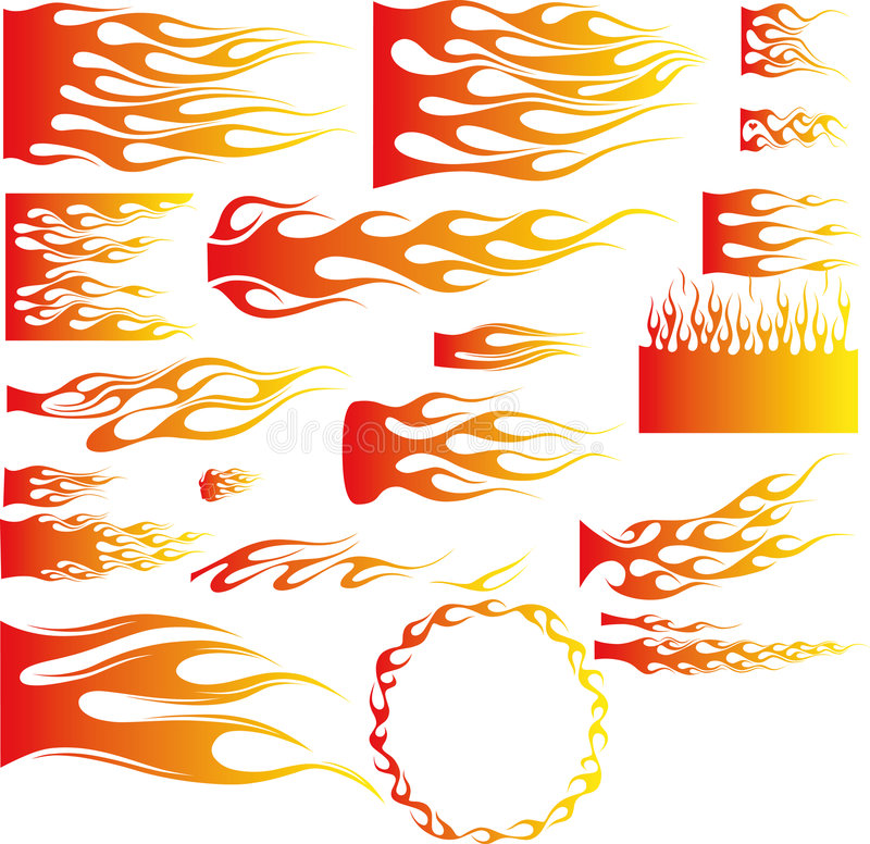 вектор пламен бесплатная иллюстрация