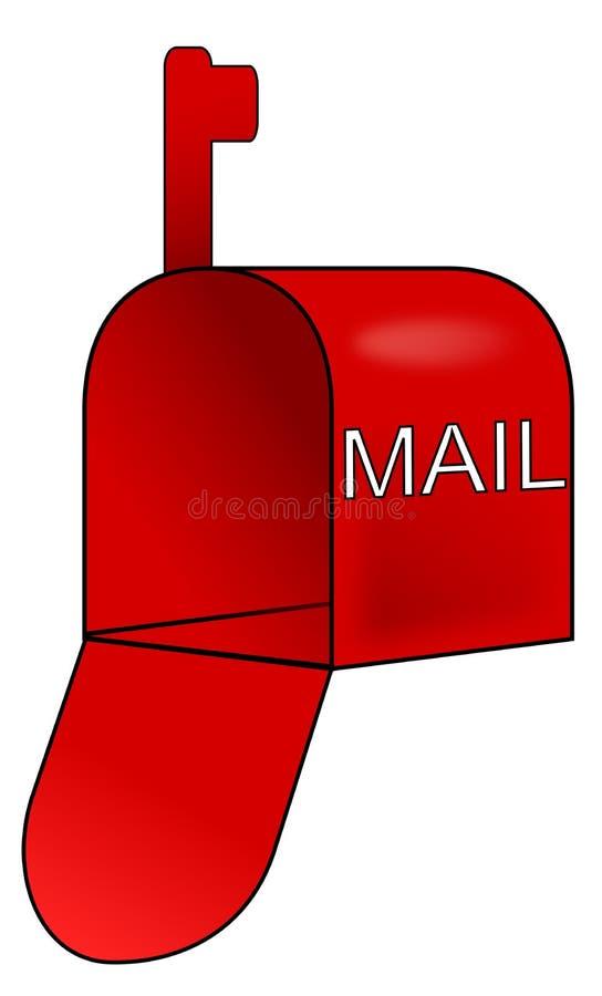 вектор почтового ящика иконы иллюстрация вектора
