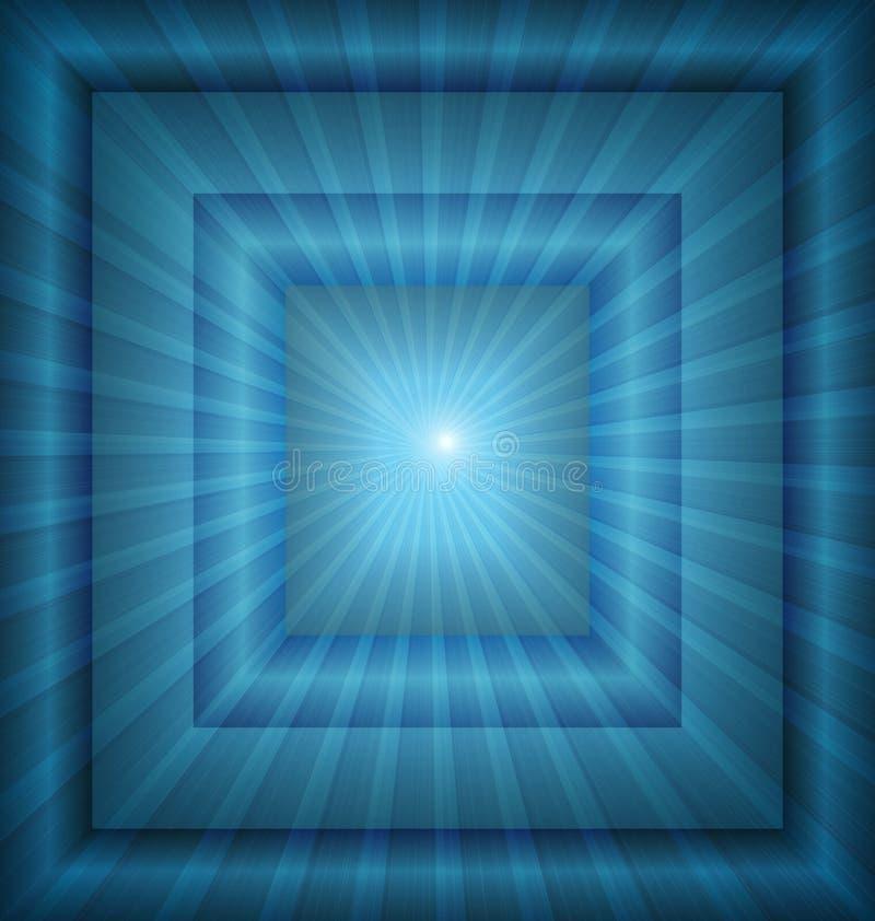 Вектор предпосылки голубой светлый иллюстрация вектора