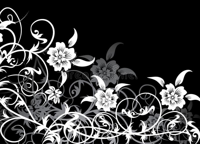 вектор предпосылки флористический иллюстрация штока