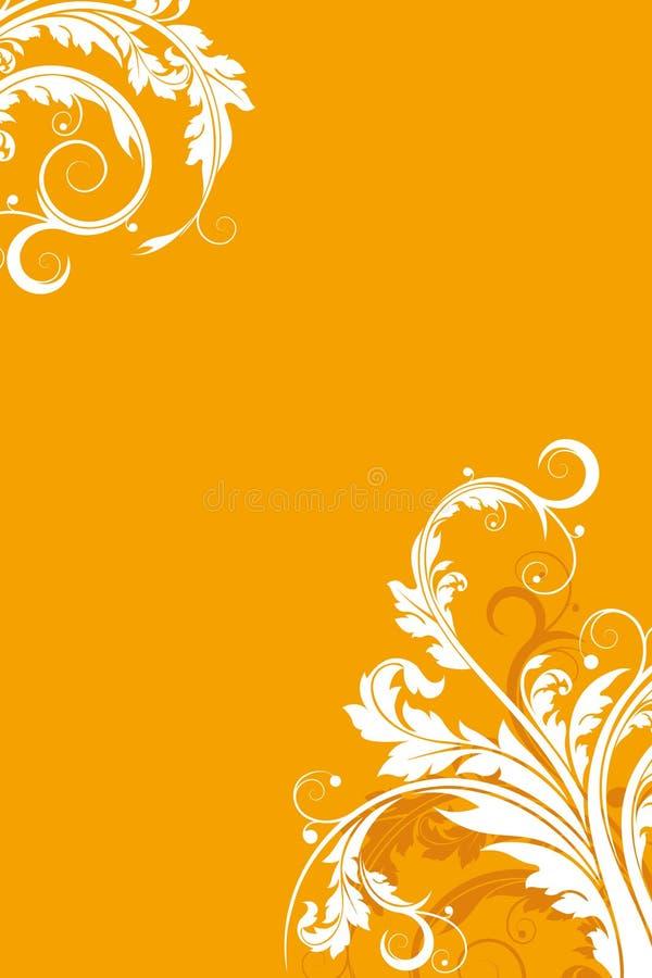 вектор предпосылки флористический иллюстрация вектора