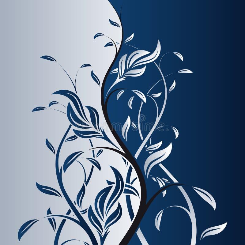 вектор предпосылки флористический бесплатная иллюстрация