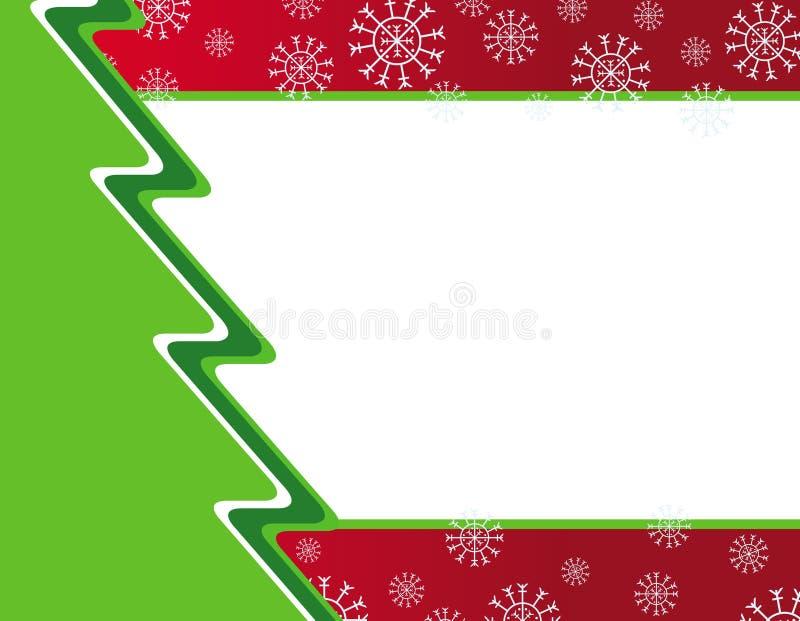 вектор приглашения рождества карточки иллюстрация вектора