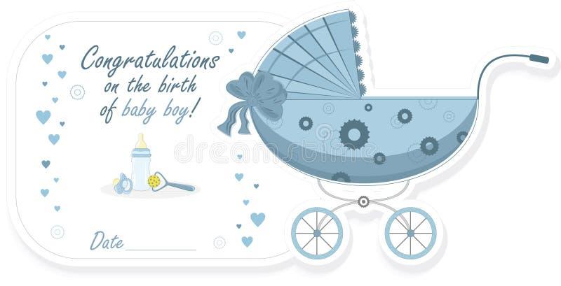 вектор прогулочной коляски иллюстрации ребёнка бесплатная иллюстрация