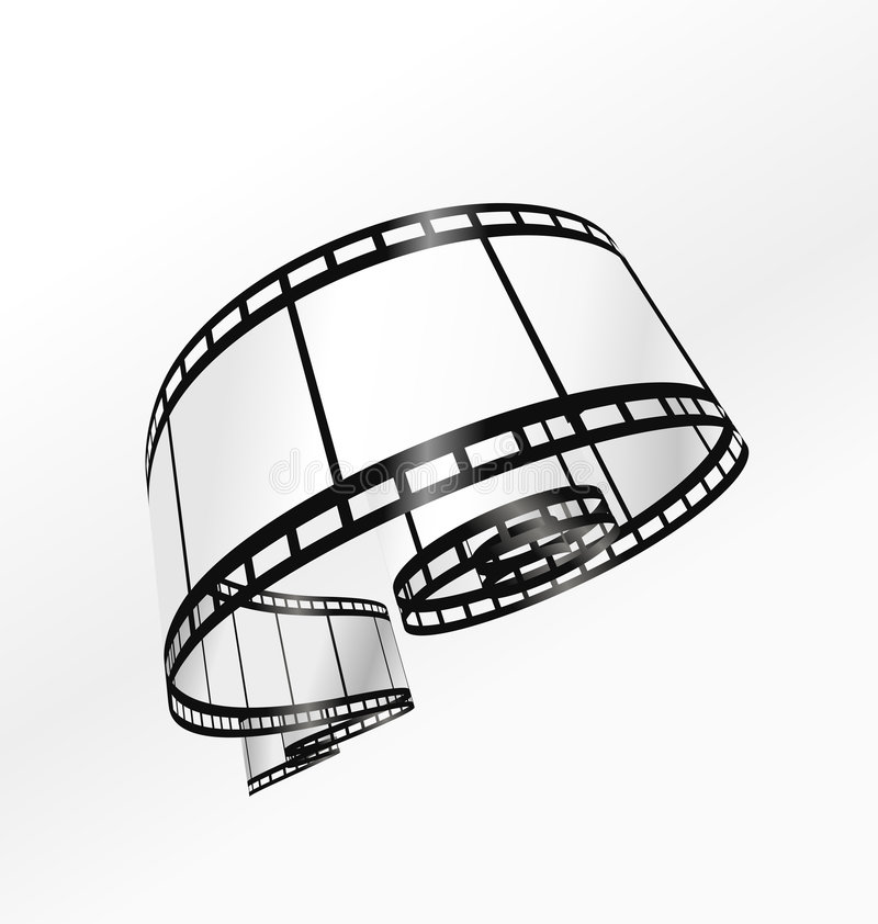 вектор прокладки пленки бесплатная иллюстрация