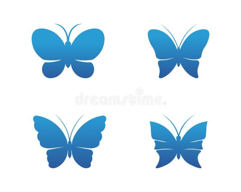 Вектор - простой бабочки схематический, красочный значок o r иллюстрация вектора