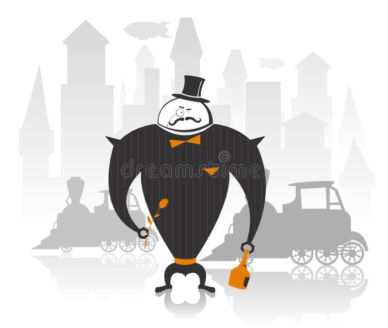 вектор робота иллюстрации джентльмена бесплатная иллюстрация