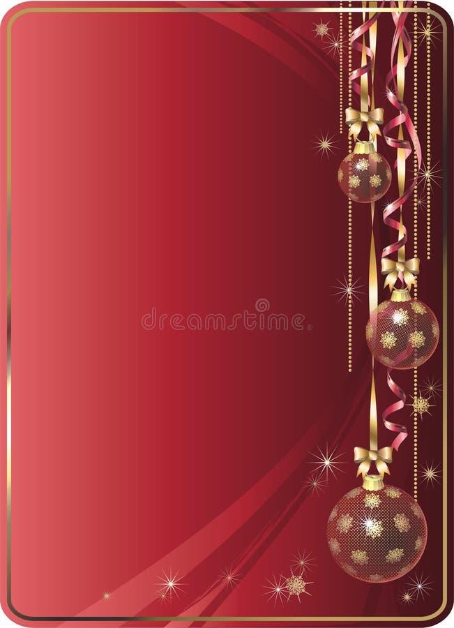 вектор рождества предпосылки иллюстрация вектора