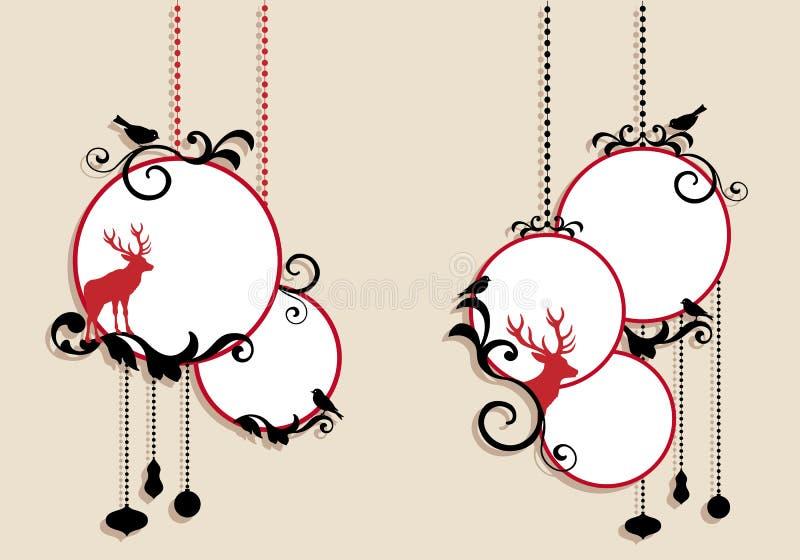 вектор рождества шариков бесплатная иллюстрация