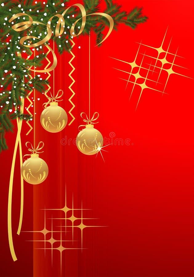 вектор рождества cdr карточки иллюстрация вектора