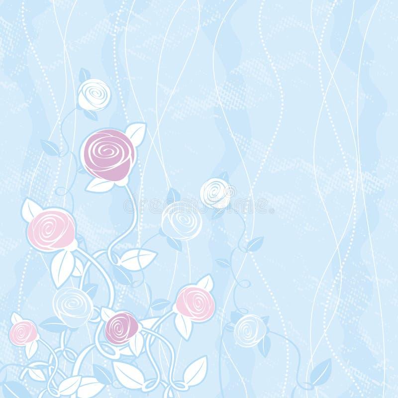 вектор роз букета иллюстрация вектора