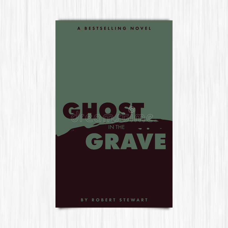 Вектор романной предусматрива с призраком в тягчайшем тексте бесплатная иллюстрация