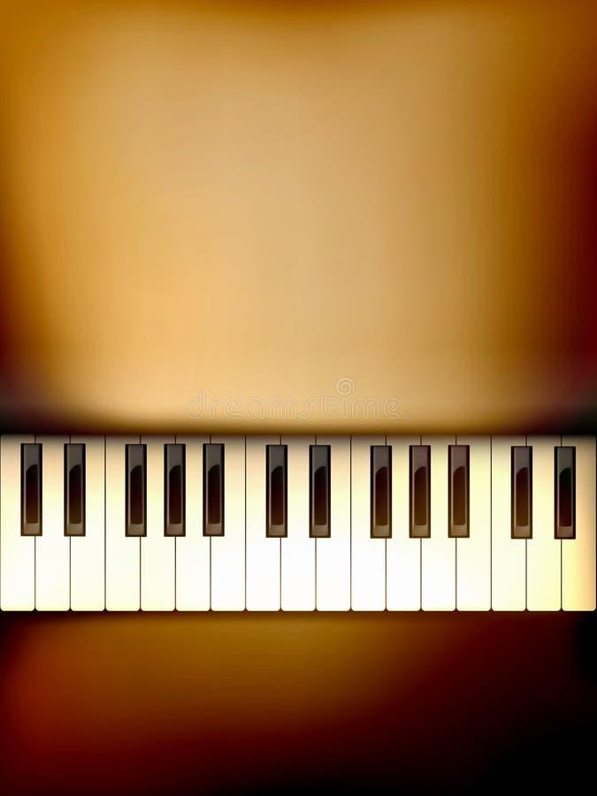 вектор рояля клавиатуры иллюстрации иллюстрация вектора
