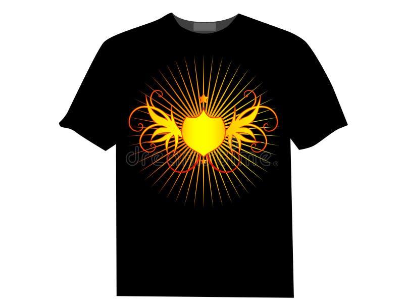 вектор рубашки t иллюстрация вектора