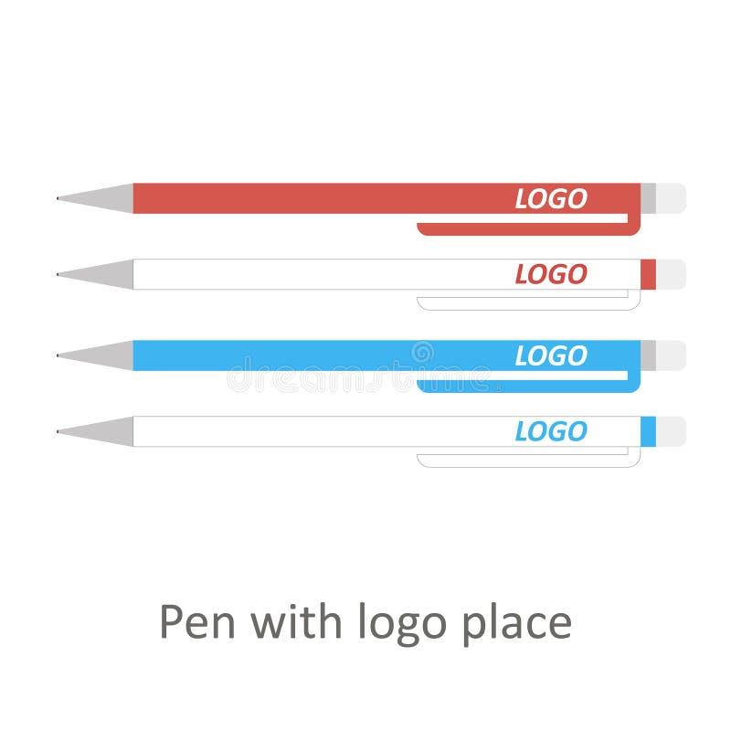 Вектор ручки конструкция самомоднейшая стоковое фото