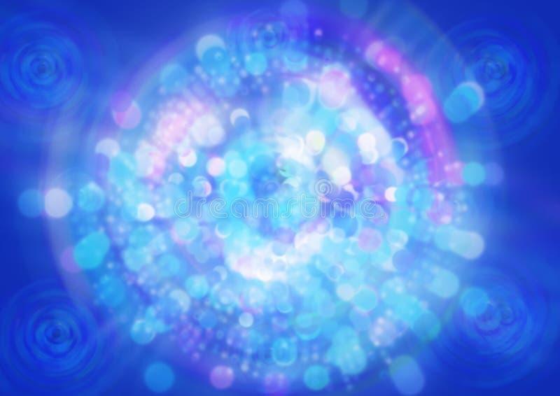 вектор света bokeh абстрактной предпосылки голубой стоковые фото