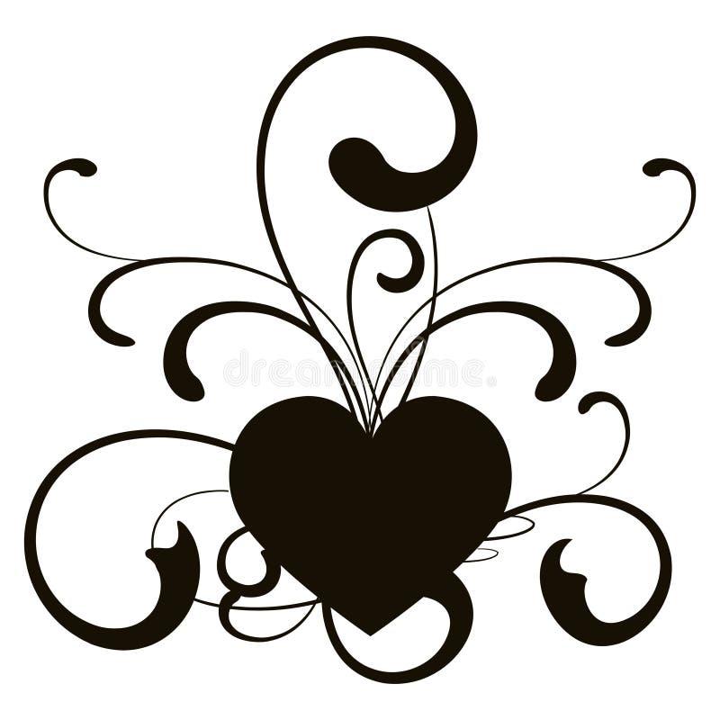 вектор сердца иллюстрация вектора