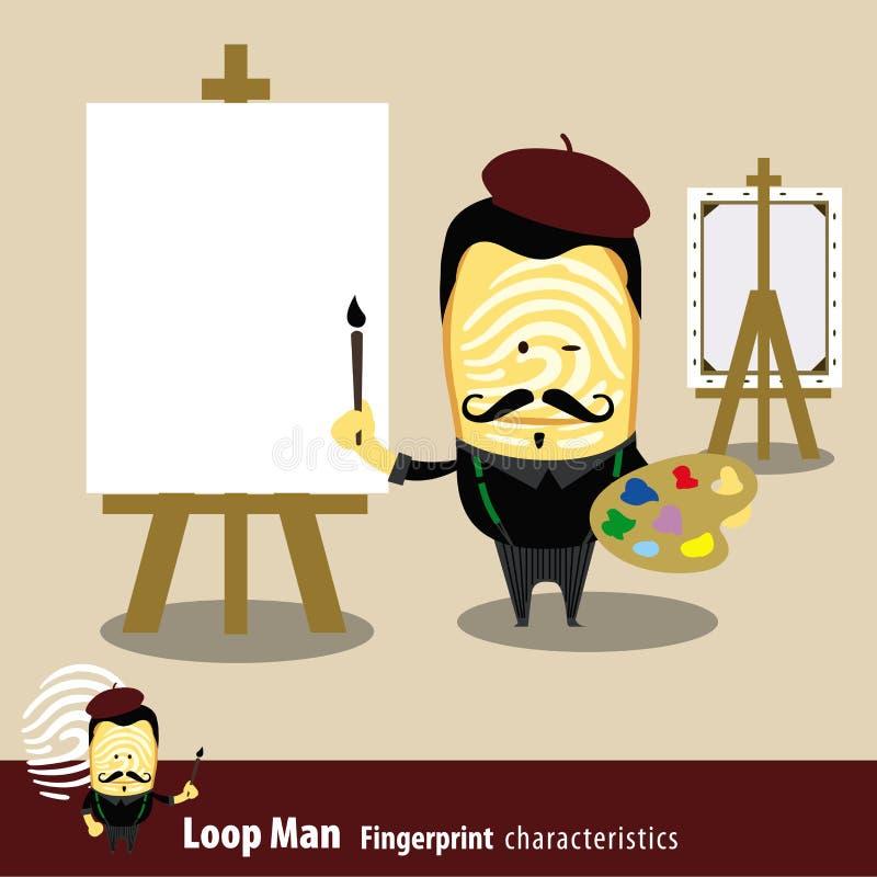 Вектор серии характеристик человека отпечатка пальцев Арройо бесплатная иллюстрация
