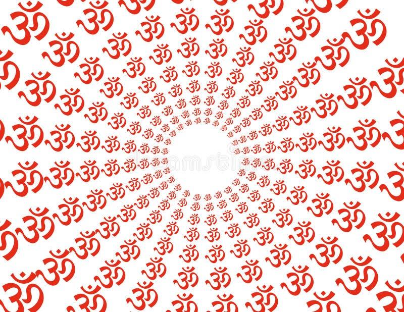 вектор символа Om Стоковое Изображение RF