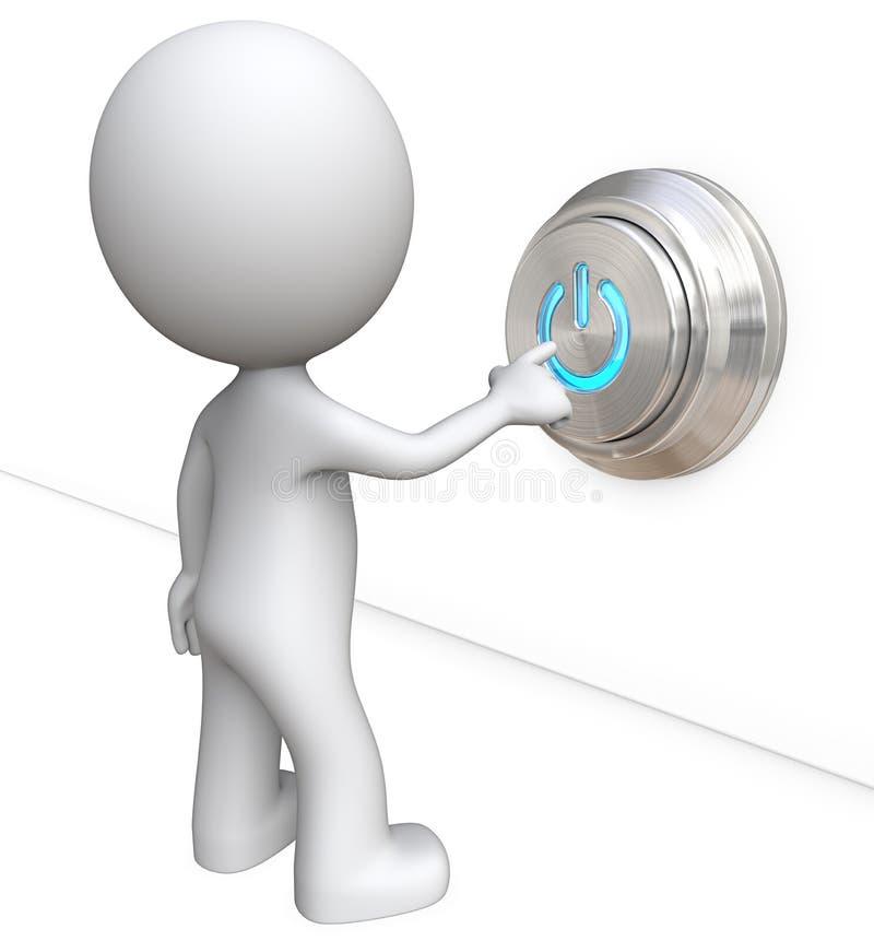 вектор силы иллюстрации формы eps 10 кнопок иллюстрация штока