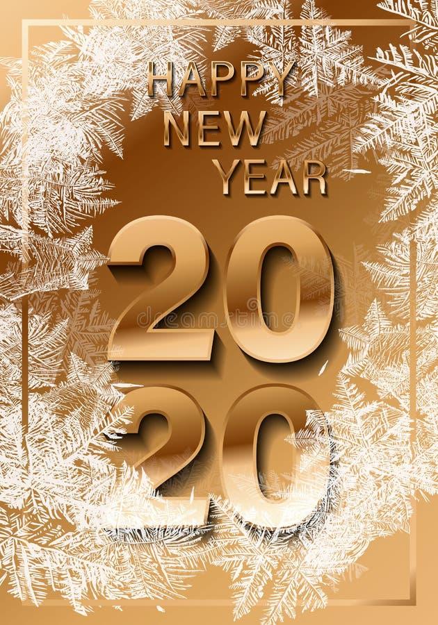 Вектор 2020 снега рождества понижаясь изолированный на темной предпосылке Влияние украшения снежинки прозрачное Картина хлопь сне стоковая фотография rf