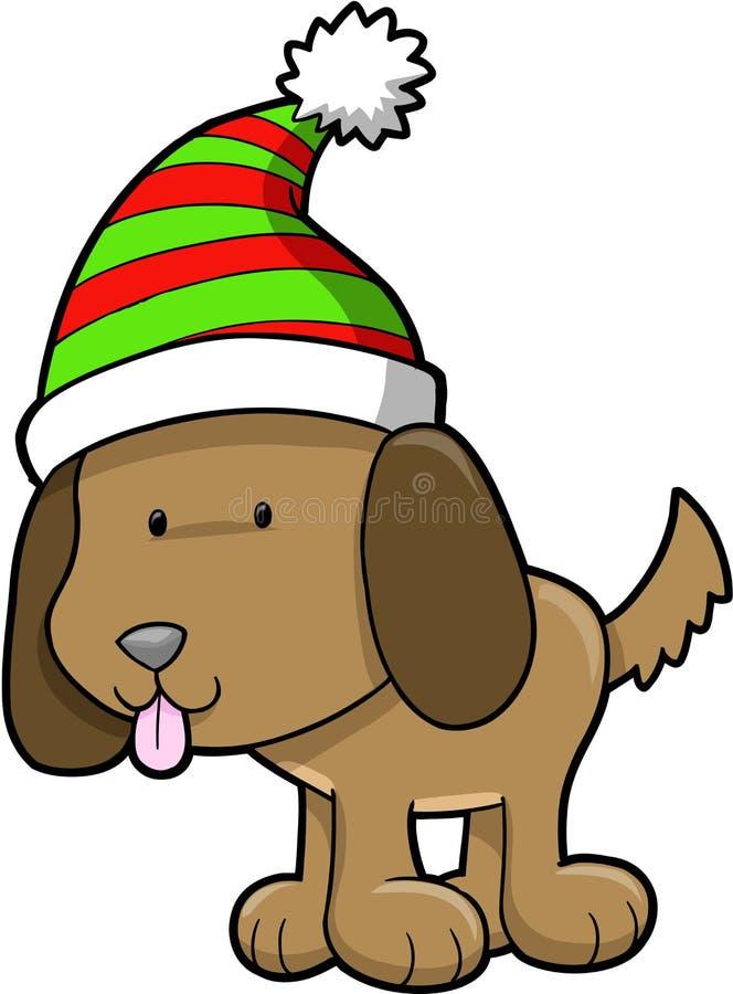 Download вектор собаки рождества иллюстрация вектора. иллюстрации насчитывающей праздник - 6859192
