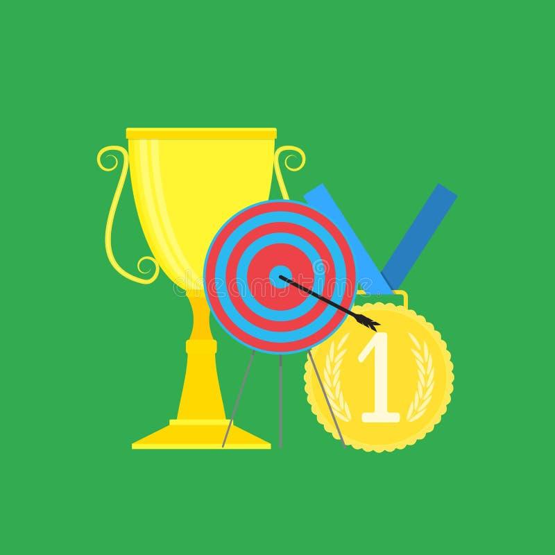 Вектор спорта успешный бесплатная иллюстрация