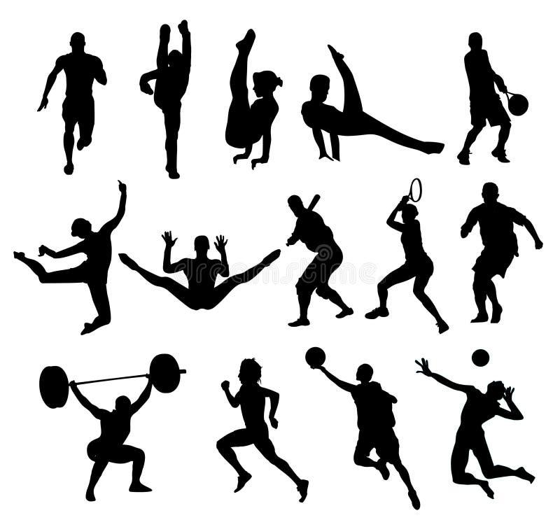 вектор спорта форм иллюстрация штока