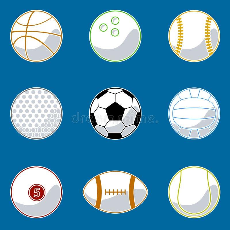 вектор спорта шарика бесплатная иллюстрация