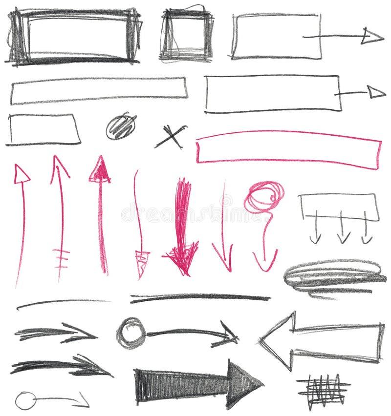 Вектор стрелок иллюстрация вектора