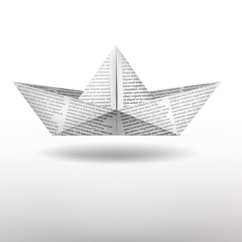 Download вектор схемы бумаги Origami изготавливания плана шлюпки Иллюстрация вектора - иллюстрации насчитывающей бумага, орнамент: 41653416