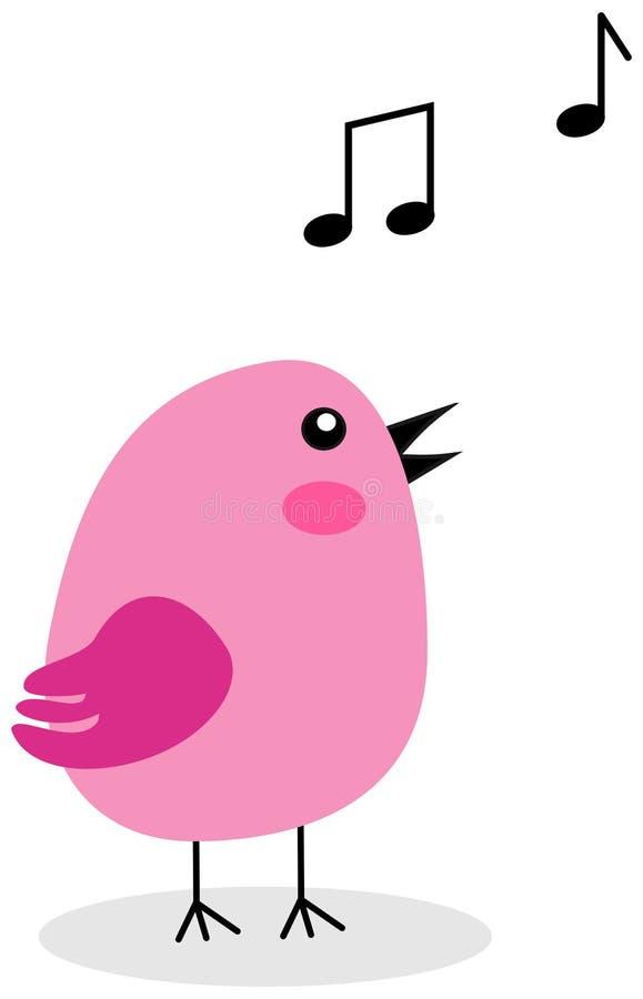 вектор текста петь места иллюстрации приветствию карточки птицы ваш иллюстрация штока