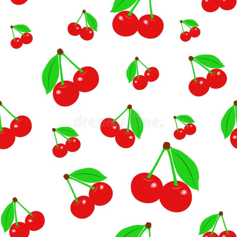 Вектор текстуры вишни - иллюстрация Плодоовощ ягоды Вишня Десерт Питание Плодоовощ стоковое фото