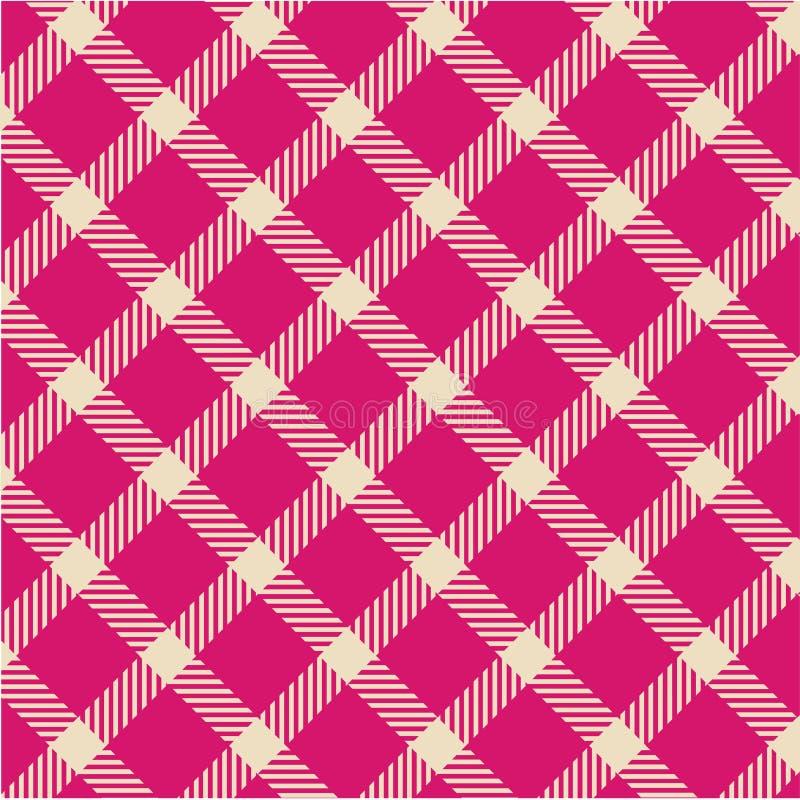 вектор текстуры шотландки картины иллюстрация вектора