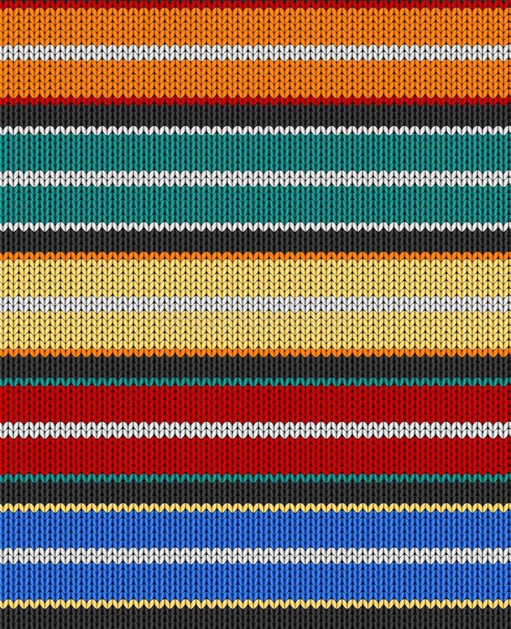 вектор текстуры knit иллюстрация штока