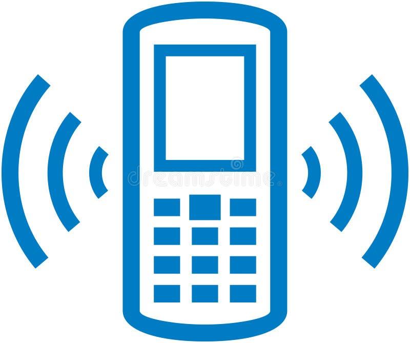 вектор телефона иллюстрации клетки звеня иллюстрация вектора