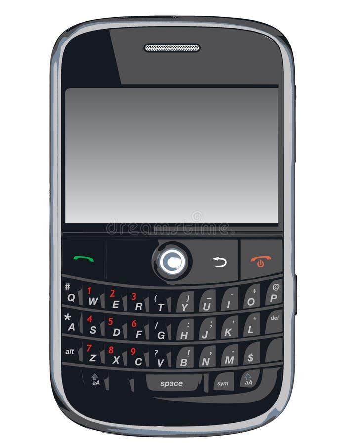 вектор телефона pda клетки ежевики бесплатная иллюстрация