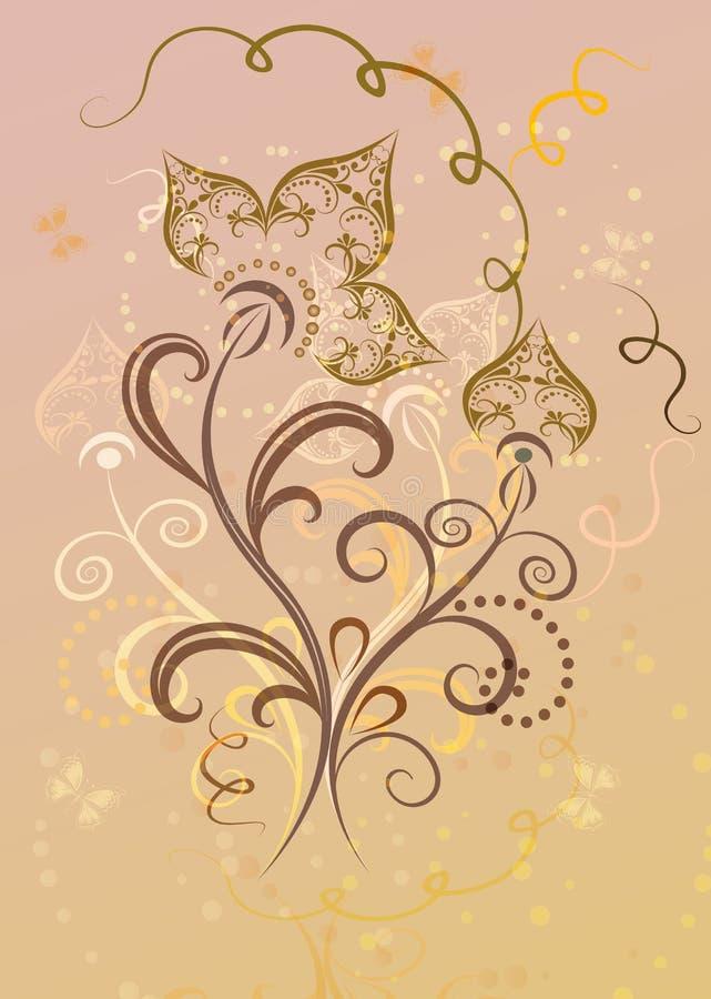 вектор темы весны цветка карточки eps10 бесплатная иллюстрация