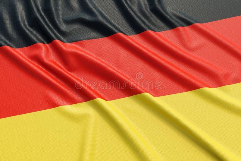 вектор типа Германии имеющегося флага стеклянный иллюстрация штока