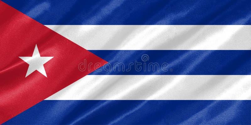вектор типа имеющегося флага Кубы стеклянный бесплатная иллюстрация