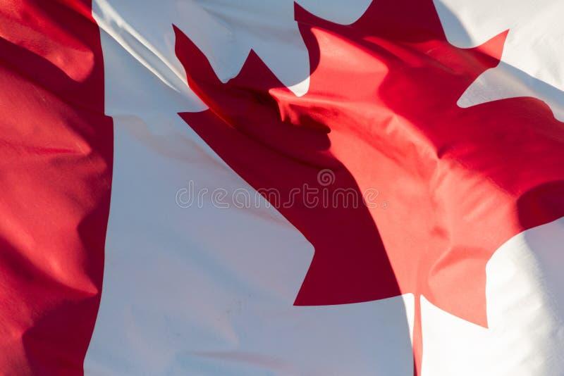 вектор типа имеющегося флага Канады стеклянный стоковая фотография rf