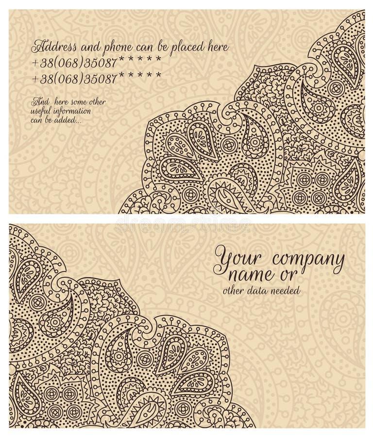 вектор типа логоса иллюстрации визитных карточек corporative бесплатная иллюстрация