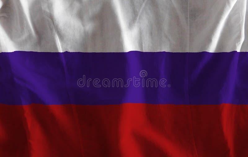 вектор типа России имеющегося флага стеклянный стоковые изображения rf