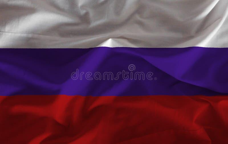 вектор типа России имеющегося флага стеклянный стоковая фотография