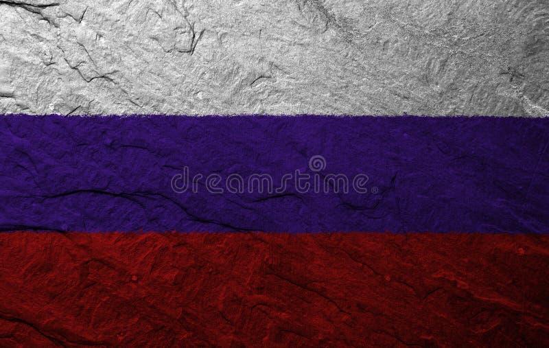 вектор типа России имеющегося флага стеклянный стоковое изображение rf