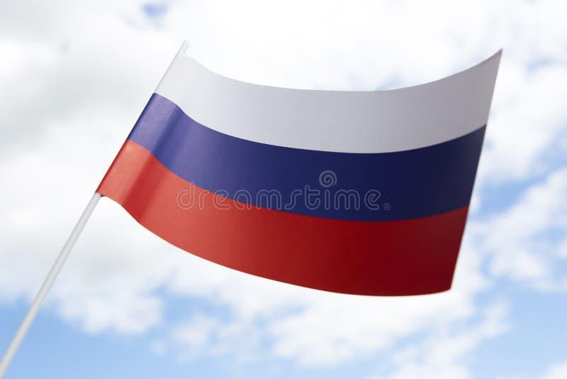 вектор типа России имеющегося флага стеклянный стоковые фотографии rf