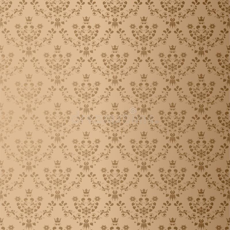 вектор тканья орнамента безшовный иллюстрация штока