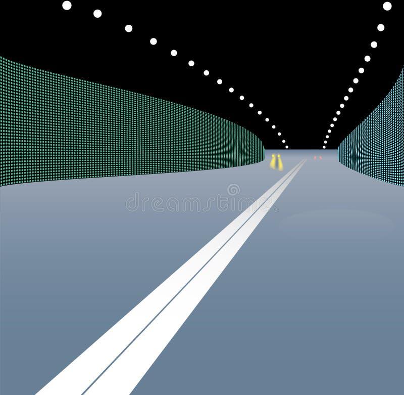вектор тоннеля перехода иллюстрации иллюстрация штока