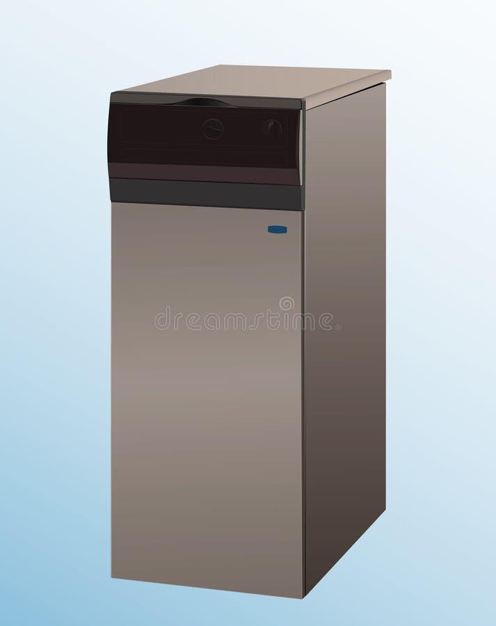вектор топления боилера бесплатная иллюстрация
